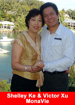 Shelley Ke and Victor Xu - MonaVi