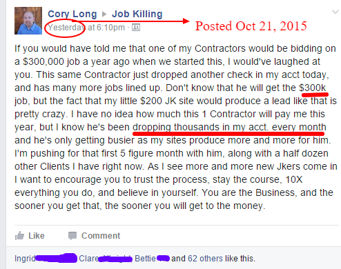Cory_ What is Job Killing